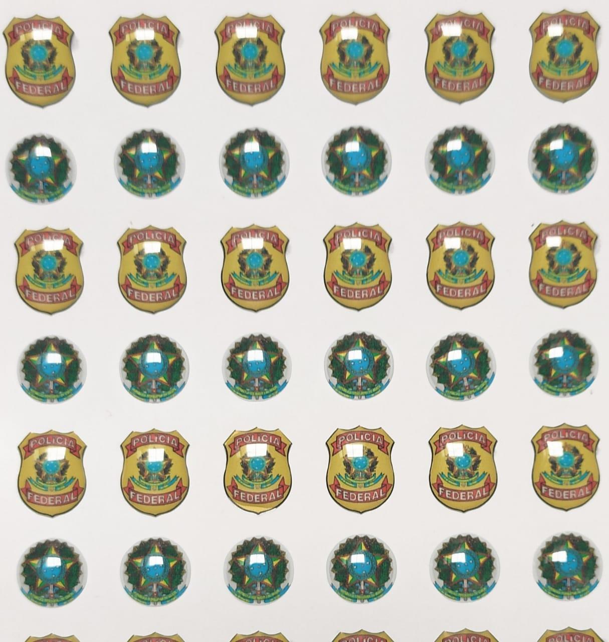 Cód. 432 - Brasão da República e Polícia
