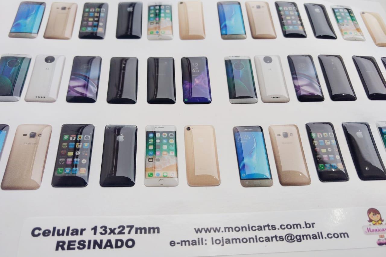 Mini celular Resinado