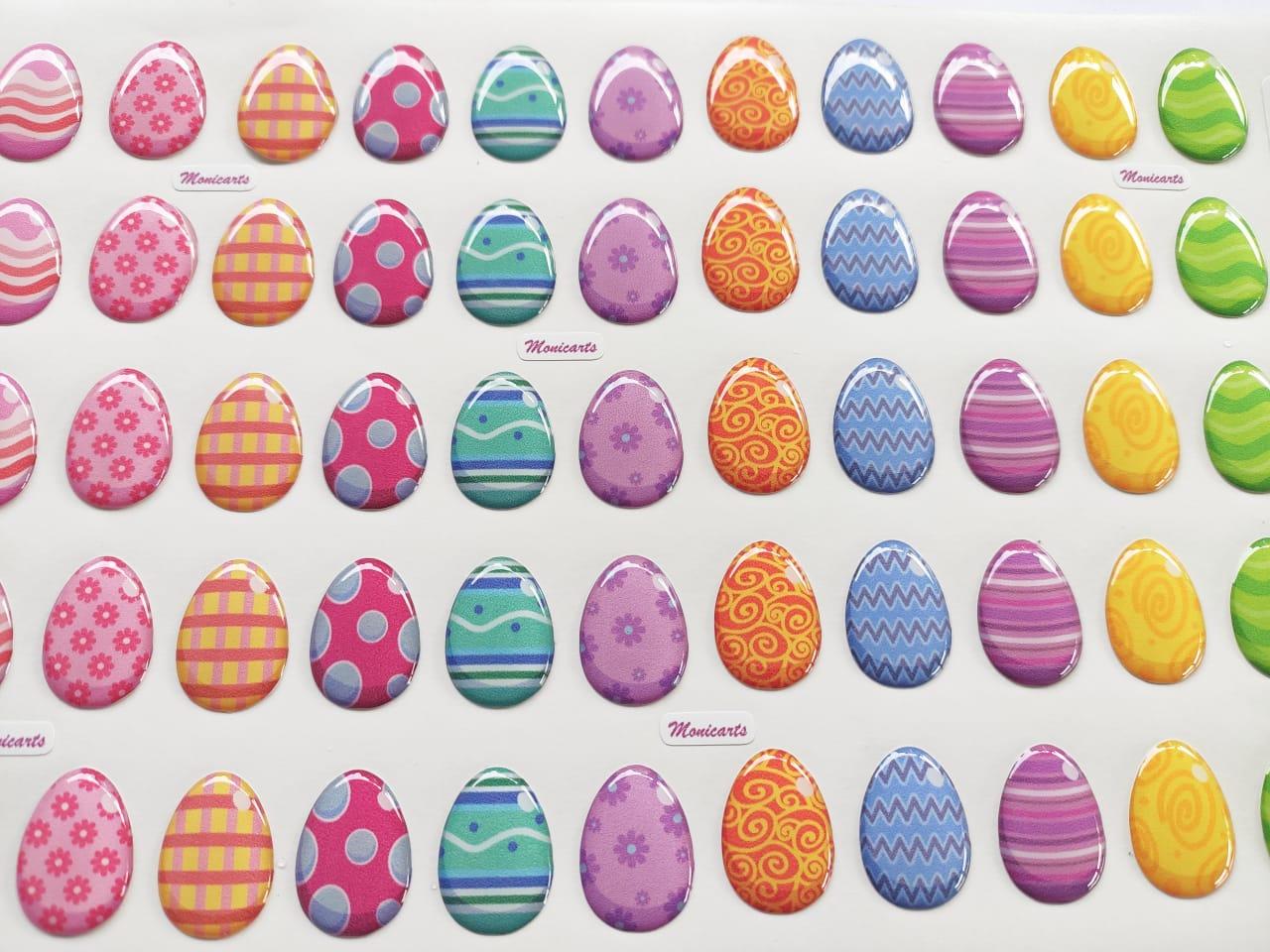 Ovos de Páscoa - Resinado