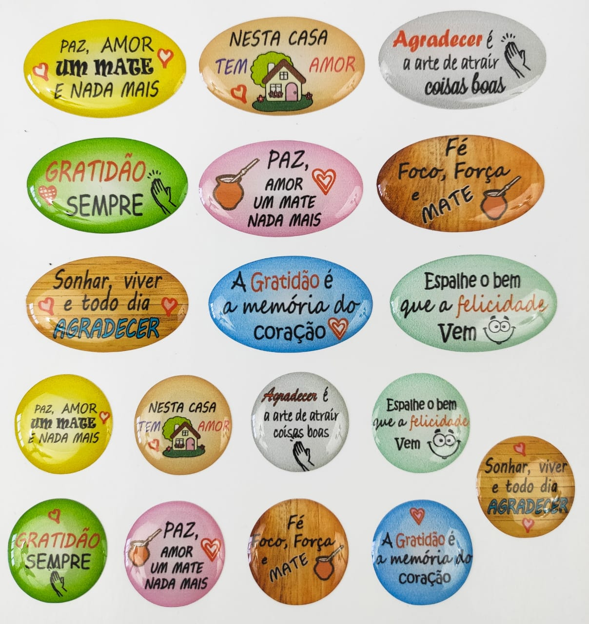 Tags enfeites de Chimarrão