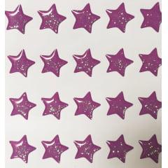 Cód. 500B - Estrelas Resinadas com Glíter