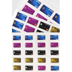 Cód. 600 - Cartões de Crédito Resinado