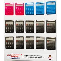 Cód. 616 - Calculadoras Resinadas